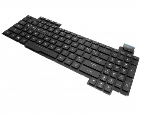 Tastatura Asus Asus ROG Strix GL703GE iluminata. Keyboard Asus Asus ROG Strix GL703GE. Tastaturi laptop Asus Asus ROG Strix GL703GE. Tastatura notebook Asus Asus ROG Strix GL703GE