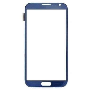 Touchscreen Digitizer Samsung Galaxy Note 2 N7100 albastru.Geam Sticla Smartphone Telefon Mobil Samsung Galaxy Note 2 N7100 albastru