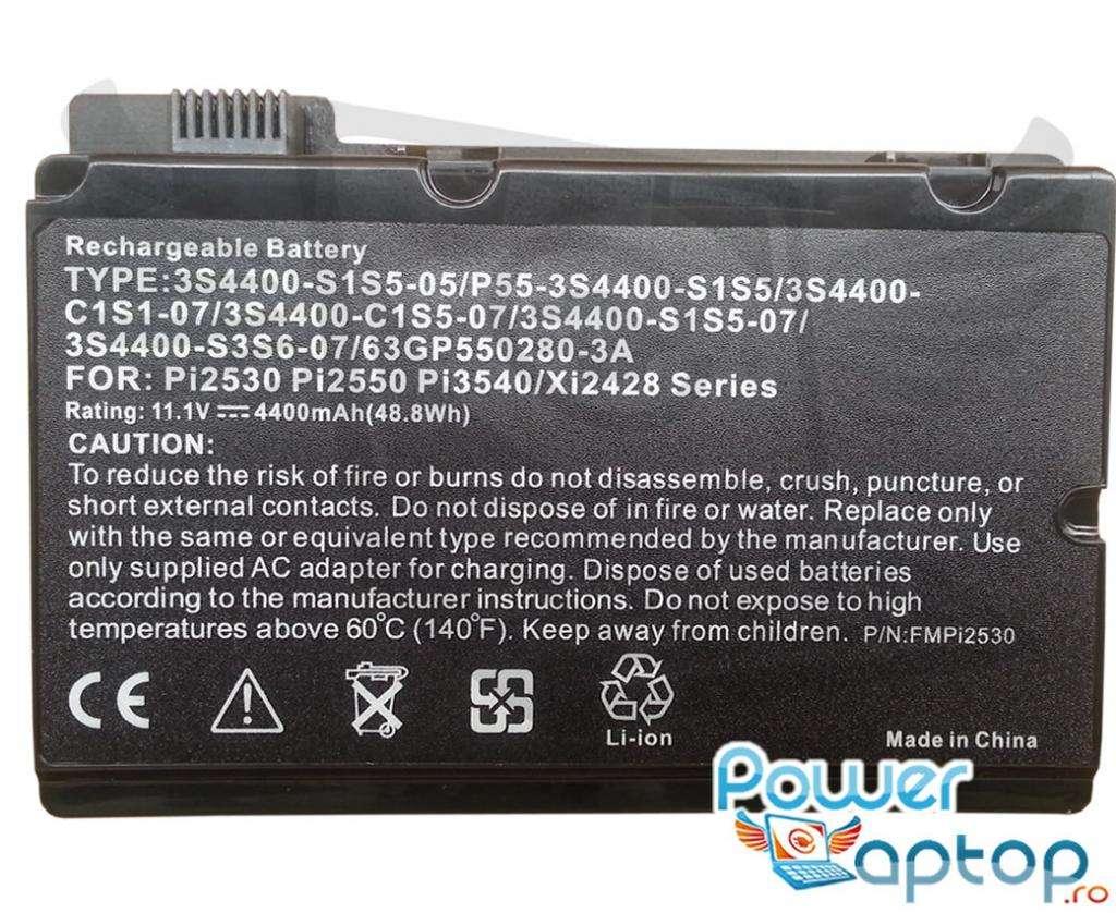 Baterie Fujitsu Amilo Pi2540 imagine powerlaptop.ro 2021