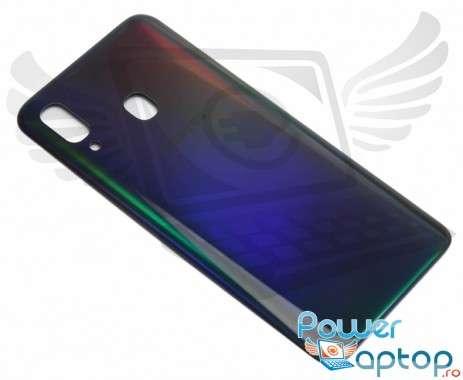 Capac Baterie Samsung Galaxy A40 A405 Negru Black. Capac Spate Samsung Galaxy A40 A405 Negru Black