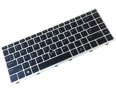 Tastatura HP EliteBook 840 G5 iluminata backlit. Keyboard HP EliteBook 840 G5 iluminata backlit. Tastaturi laptop HP EliteBook 840 G5 iluminata backlit. Tastatura notebook HP EliteBook 840 G5 iluminata backlit
