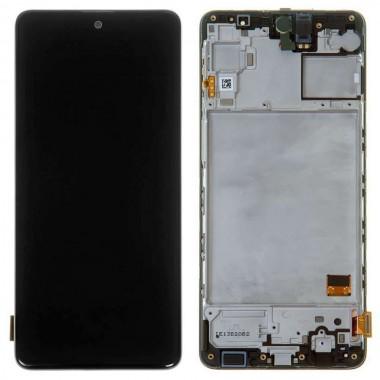 Ansamblu Display LCD + Touchscreen Original Service Pack Samsung Galaxy M31s M317 Black Negru. Ecran + Digitizer Original Service Pack Samsung Galaxy M31s M317 Black Negru