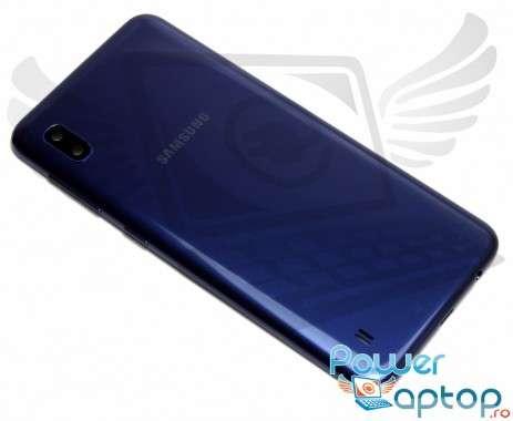 Capac Baterie Samsung Galaxy A10 A105 Albastru Blue. Capac Spate Samsung Galaxy A10 A105 Albastru Blue
