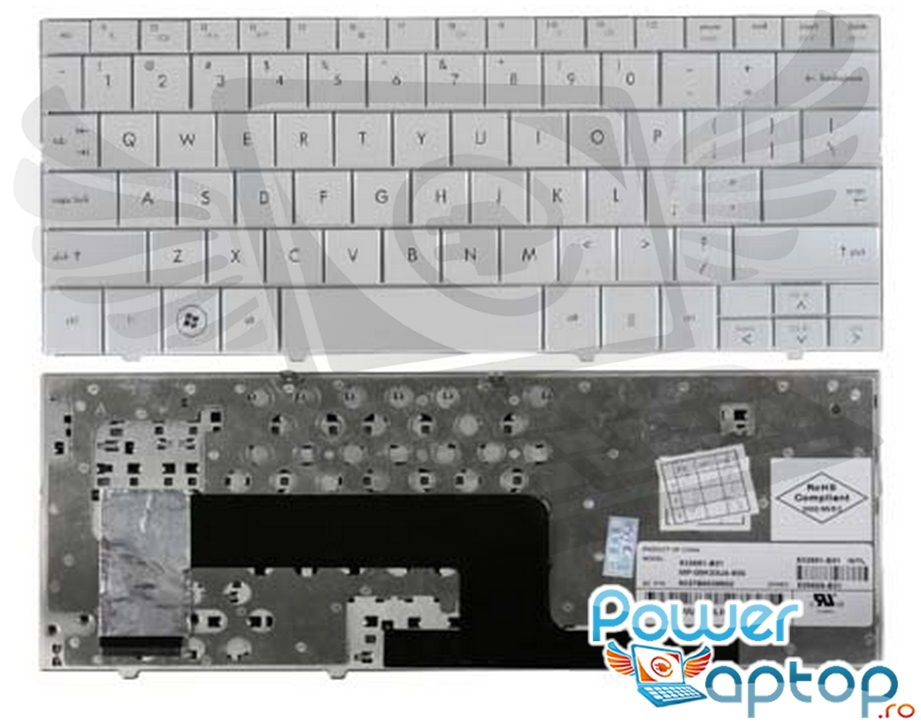 Tastatura HP Mini 110 1060 alba imagine