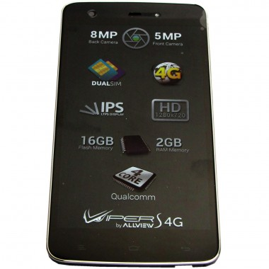 Ansamblu Display LCD + Touchscreen Allview V1 Viper S4G cu Rama Swap Original. Modul Ecran + Digitizer Allview V1 Viper S4G cu Rama Swap Original