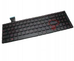 Tastatura Asus  GL552J. Keyboard Asus  GL552J. Tastaturi laptop Asus  GL552J. Tastatura notebook Asus  GL552J