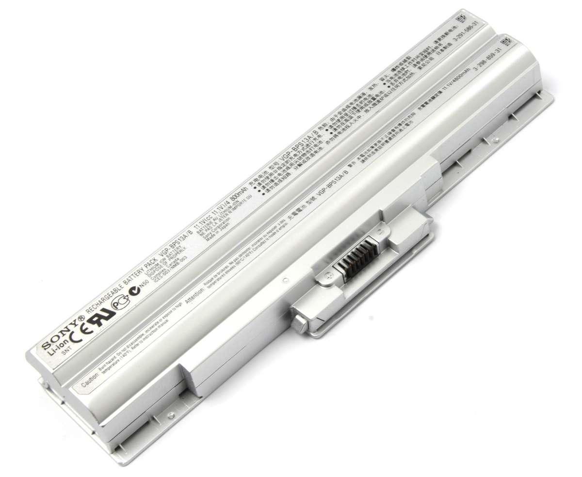 Baterie Sony Vaio VGN CS Originala argintie imagine