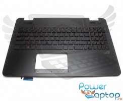 Palmrest Asus ROG N551JW cu tastatura. Carcasa Superioara Asus ROG N551JW Negru