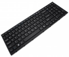 Tastatura Sony MP-09L23US-886 neagra. Keyboard Sony MP-09L23US-886 neagra. Tastaturi laptop Sony MP-09L23US-886 neagra. Tastatura notebook Sony MP-09L23US-886 neagra