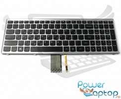 Tastatura Lenovo IdeaPad Z710 iluminata backlit. Keyboard Lenovo IdeaPad Z710 iluminata backlit. Tastaturi laptop Lenovo IdeaPad Z710 iluminata backlit. Tastatura notebook Lenovo IdeaPad Z710 iluminata backlit
