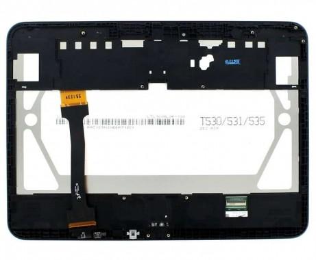 Ansamblu Display LCD  + Touchscreen Samsung Galaxy Tab 4 10.1 WiFi T530 ORIGINAL Negru. Modul Ecran + Digitizer Samsung Galaxy Tab 4 10.1 WiFi T530 ORIGINAL Negru