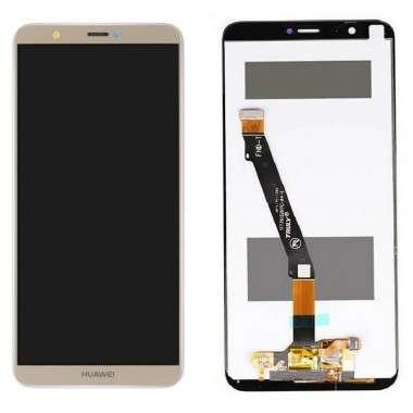 Ansamblu Display LCD + Touchscreen Huawei P Smart 2018 Gold Auriu . Ecran + Digitizer Huawei P Smart 2018 Gold Auriu