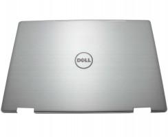 Carcasa Display Dell 0GCPWV pentru laptop cu touchscreen. Cover Display Dell 0GCPWV. Capac Display Dell 0GCPWV Argintie