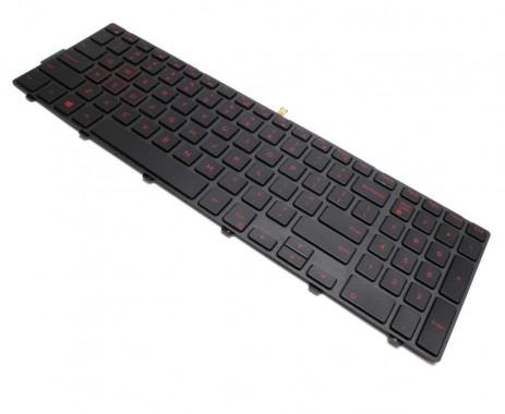 Tastatura Dell Inspiron 15 5577 iluminata backlit. Keyboard Dell Inspiron 15 5577 iluminata backlit. Tastaturi laptop Dell Inspiron 15 5577 iluminata backlit. Tastatura notebook Dell Inspiron 15 5577 iluminata backlit
