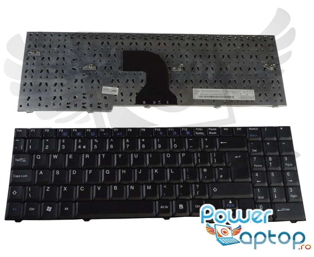 Tastatura Packard Bell MX45 imagine powerlaptop.ro 2021