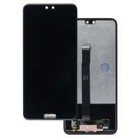 Ansamblu Display LCD + Touchscreen Huawei P20 EML-L29C Black Negru . Ecran + Digitizer Huawei P20 EML-L29C Black Negru