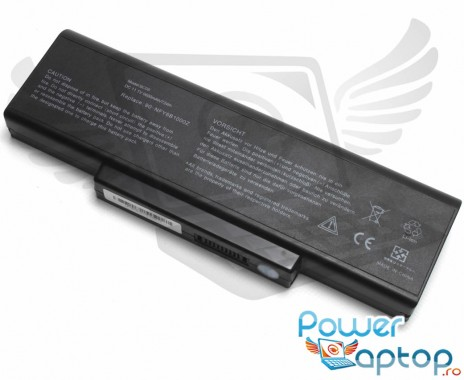 Baterie Clevo  W76 9 celule. Acumulator laptop Clevo  W76 9 celule. Acumulator laptop Clevo  W76 9 celule. Baterie notebook Clevo  W76 9 celule