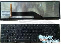 Tastatura Asus  K61IC iluminata backlit. Keyboard Asus  K61IC iluminata backlit. Tastaturi laptop Asus  K61IC iluminata backlit. Tastatura notebook Asus  K61IC iluminata backlit