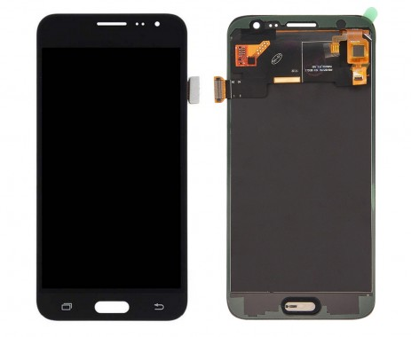 Ansamblu Display LCD + Touchscreen Samsung Galaxy J3 2016 J320FN Black Negru . Ecran + Digitizer Samsung Galaxy J3 2016 J320FN Negru Black