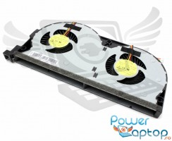 Cooler laptop Lenovo IdeaPad Y50-80 Touch. Ventilator procesor Lenovo IdeaPad Y50-80 Touch. Sistem racire laptop Lenovo IdeaPad Y50-80 Touch