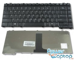 Tastatura Toshiba Satellite M205 neagra. Keyboard Toshiba Satellite M205 neagra. Tastaturi laptop Toshiba Satellite M205 neagra. Tastatura notebook Toshiba Satellite M205 neagra