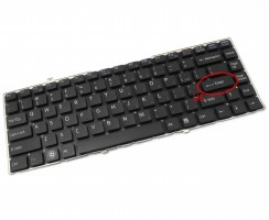 Tastatura Sony Vaio VGN FW93XS neagra. Keyboard Sony Vaio VGN FW93XS. Tastaturi laptop Sony Vaio VGN FW93XS. Tastatura notebook Sony Vaio VGN FW93XS