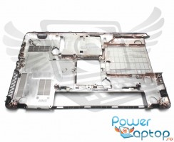 Bottom Toshiba Satellite C850D V000271670. Carcasa Inferioara Toshiba Satellite C850D Neagra