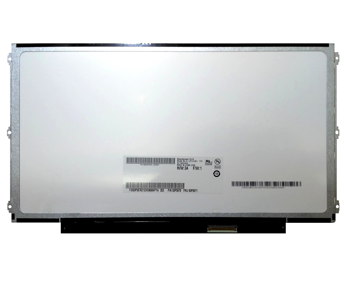 Display laptop Samsung LTN125AT01 Ecran 12.5 1366x768 40 pini led lvds imagine powerlaptop.ro 2021