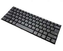 Tastatura Lenovo NSK-BWFBN 01 Gri iluminata backlit. Keyboard Lenovo NSK-BWFBN 01 Gri. Tastaturi laptop Lenovo NSK-BWFBN 01 Gri. Tastatura notebook Lenovo NSK-BWFBN 01 Gri