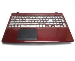 Palmrest Acer Travelmate TMP255 MG. Carcasa Superioara Acer Travelmate TMP255 MG Visiniu cu touchpad inclus