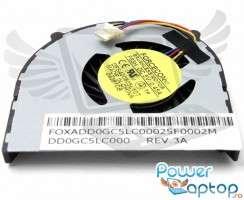 Cooler laptop Acer Aspire 5810T. Ventilator procesor Acer Aspire 5810T. Sistem racire laptop Acer Aspire 5810T