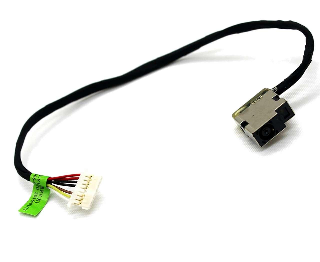 Mufa alimentare laptop HP Pavilion 15T-AK000 cu fir imagine powerlaptop.ro 2021