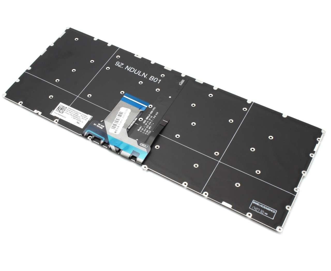 Tastatura Lenovo SN20M62522 iluminata backlit cu Panglica Lunga imagine powerlaptop.ro 2021