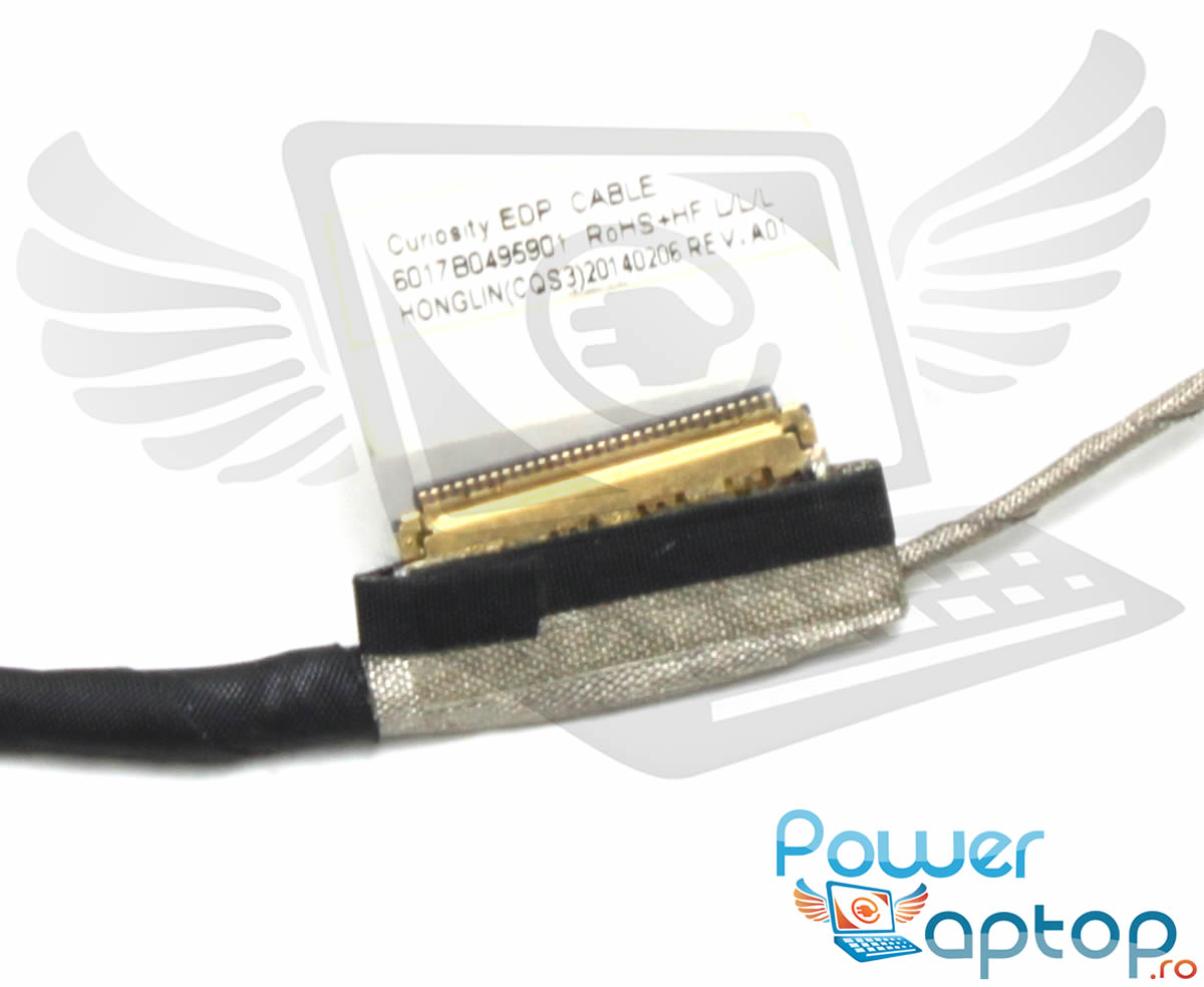 Cablu video eDP Toshiba 6017B0495901 imagine