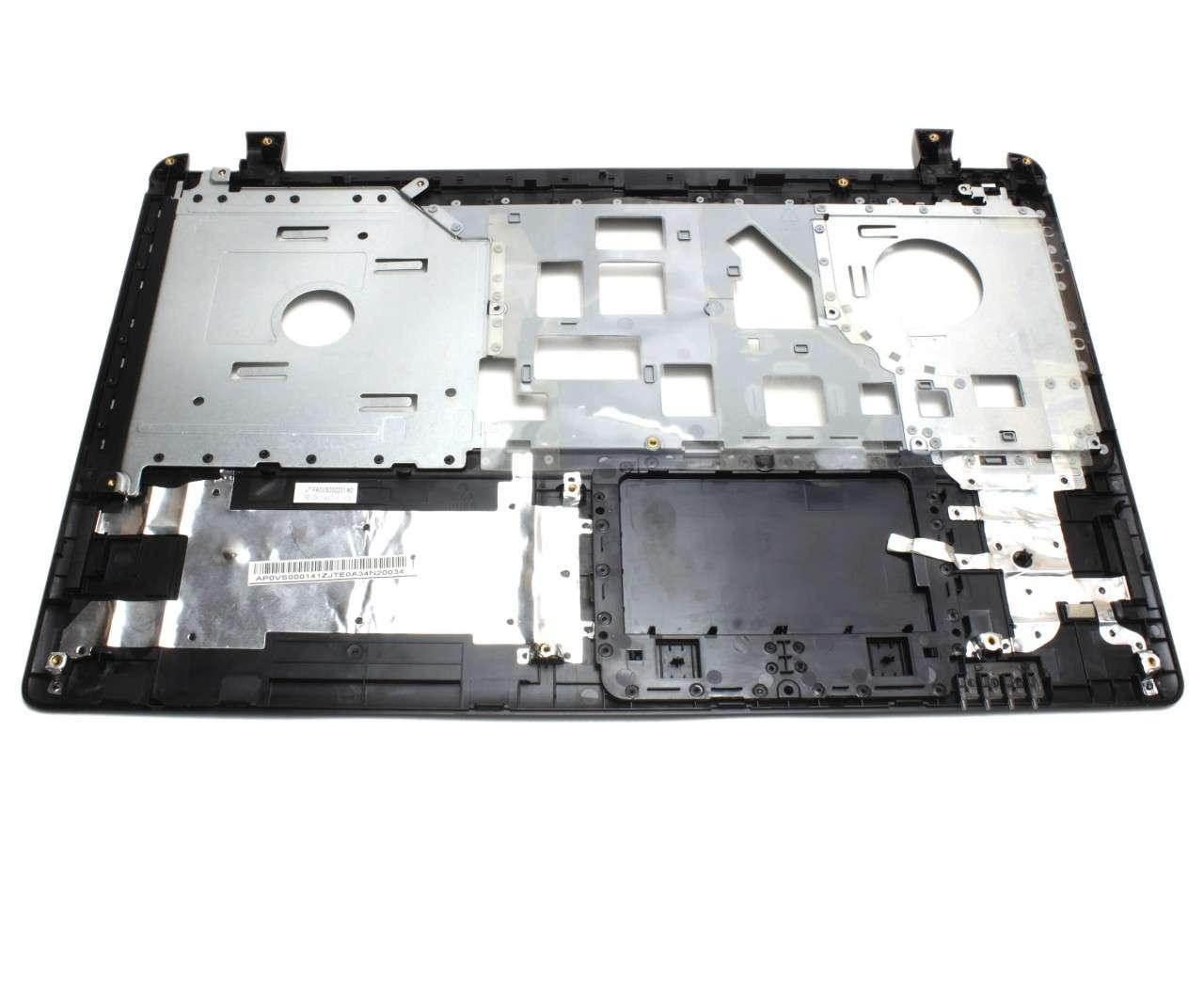Palmrest Acer TravelMate TMP255 MPG Negru fara touchpad imagine