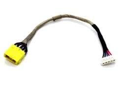 Mufa alimentare Lenovo  G710 cu fir . DC Jack Lenovo  G710 cu fir