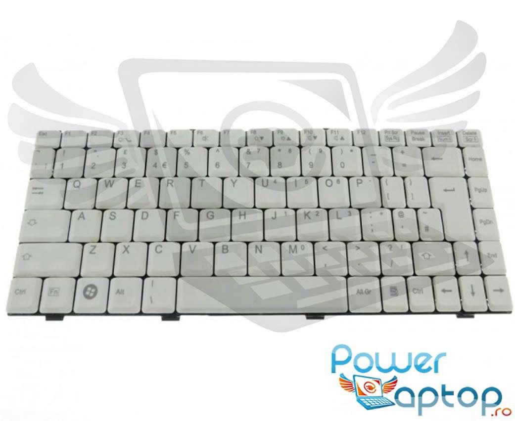 Tastatura Fujitsu Siemens Amilo L7320GW alba imagine powerlaptop.ro 2021