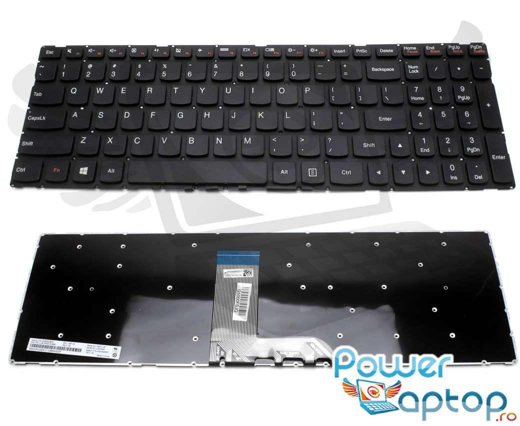 Tastatura Lenovo LCM15H83US 6861 layout US fara rama enter mic imagine powerlaptop.ro 2021