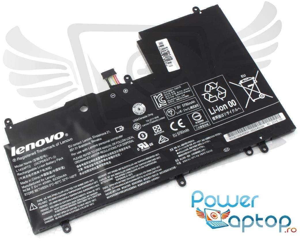 Baterie Lenovo Yoga 700-14ISK 7.5V Originala imagine powerlaptop.ro 2021
