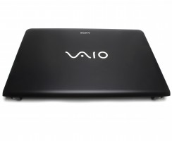 Carcasa Display Sony Vaio SVE15. Cover Display Sony Vaio SVE15. Capac Display Sony Vaio SVE15 Neagra