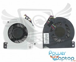 Cooler laptop Dell  DFS491105MH0T. Ventilator procesor Dell  DFS491105MH0T. Sistem racire laptop Dell  DFS491105MH0T