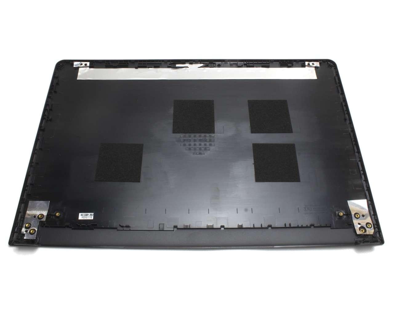 Capac Display BackCover Dell Inspiron 3567 Carcasa Display pentru laptop cu touchscreen imagine powerlaptop.ro 2021