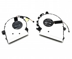 Sistem coolere laptop Lenovo DFS150705BR0T. Ventilatoare procesor Lenovo DFS150705BR0T. Sistem racire laptop Lenovo DFS150705BR0T