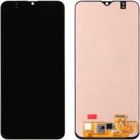 Ansamblu Display LCD + Touchscreen Samsung Galaxy A20 A205 Display OLED Black Negru . Ecran + Digitizer Samsung Galaxy A20 A205 Display OLED Negru Black