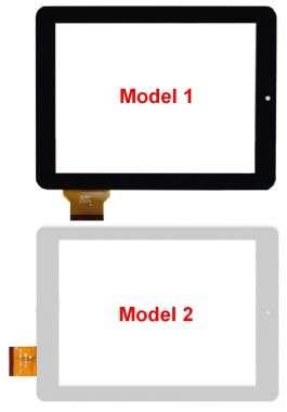 Digitizer Touchscreen Allview 3 Speed Quad. Geam Sticla Tableta Allview 3 Speed Quad