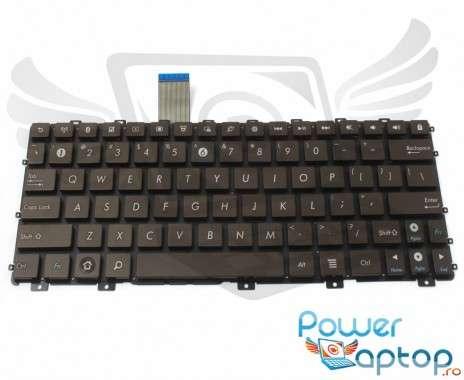 Tastatura Asus Eee PC 1015PE maro. Keyboard Asus Eee PC 1015PE. Tastaturi laptop Asus Eee PC 1015PE. Tastatura notebook Asus Eee PC 1015PE