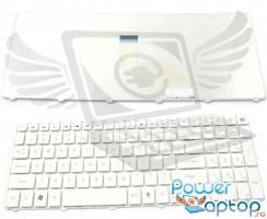 Tastatura eMachines  G443G alba. Keyboard eMachines  G443G alba. Tastaturi laptop eMachines  G443G alba. Tastatura notebook eMachines  G443G alba