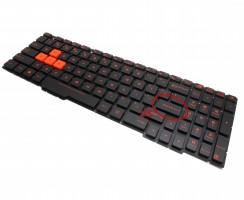 Tastatura Asus GL553VD iluminata. Keyboard Asus GL553VD. Tastaturi laptop Asus GL553VD. Tastatura notebook Asus GL553VD