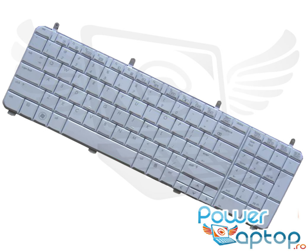 Tastatura HP Pavilion dv6 1290 alba imagine powerlaptop.ro 2021