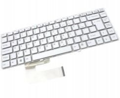 Tastatura Sony Vaio VGN NW270 alba. Keyboard Sony Vaio VGN NW270. Tastaturi laptop Sony Vaio VGN NW270. Tastatura notebook Sony Vaio VGN NW270